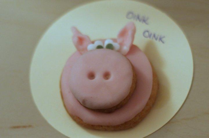 DIY- Silvesterglücksschweinchen