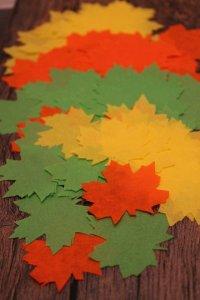 Seidenpapierblätter