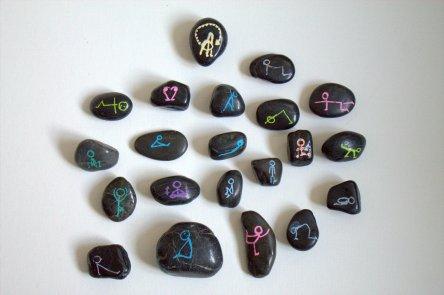 bemalte Steine (2)