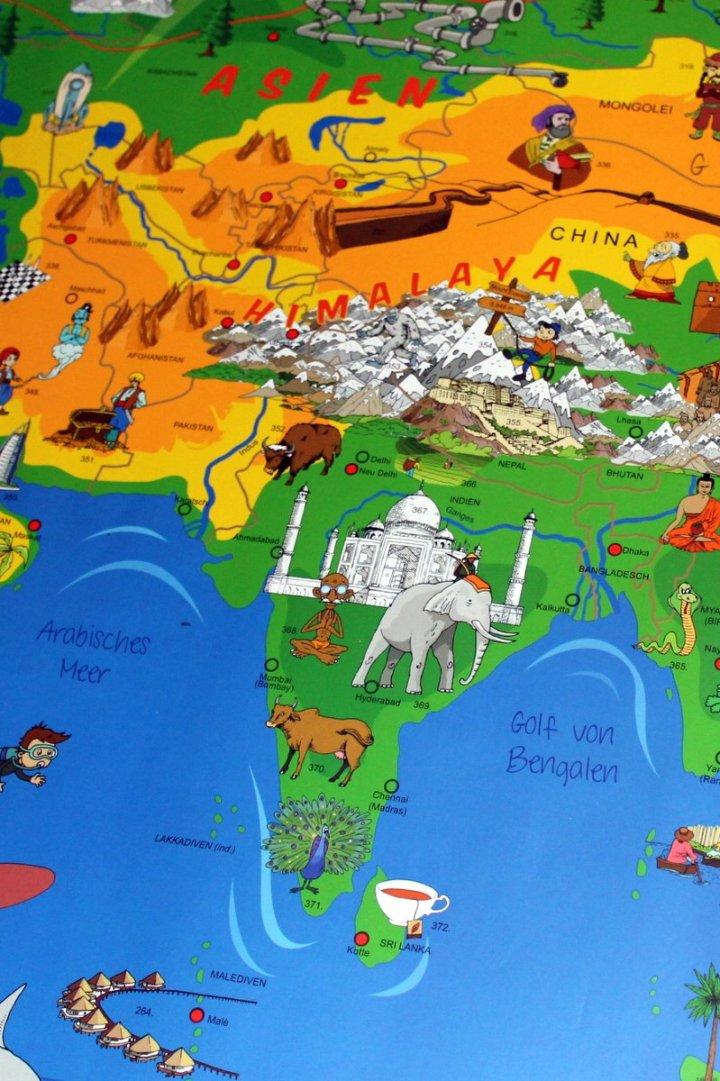 mit den Yogakindern auf Weltreise:Indien
